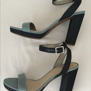 Denim Sandals size 9
